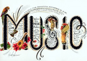 Music is one of the things that can cheer you up
