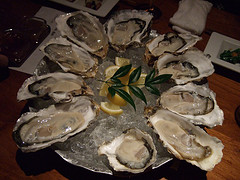 Classic oysters are the top easy hors d'oeuvres for all parties