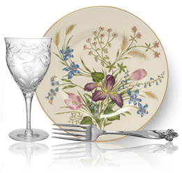 Give mom a replacement of broken china or crystal for mother's day