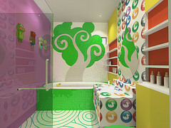 One of the top ten kids bathroom decorating ideas