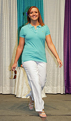One of the top ten women's business casual fashions