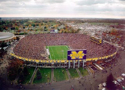 One of the top ten football stadiums