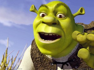 Shrek is one of the top ten animated movies