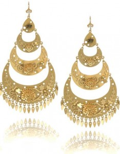 Chandelier earrings are one of the top ten essential jewelry pieces