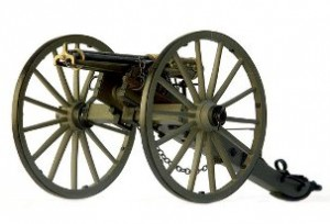 Civil War Battles Gatling Gun