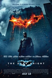 Dark Knight is one of the top ten action packed movies