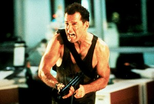 Diehard is one of the top ten action packed movies