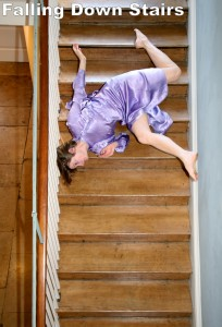 Stairs are one of the top ten dangers in your home