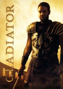 Gladiator is one of the top ten action packed movies