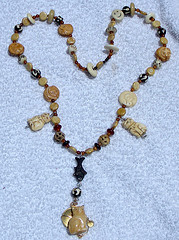 Handmade necklace is one of the top ten easy crafts
