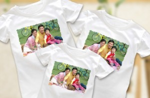 A custom photo shirt is one of the top ten clothing gifts for mother's day