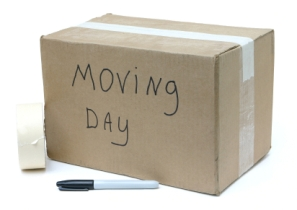 A list of the top ten tips for getting ready to move
