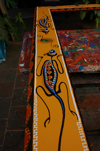 One of the top ten ways to decorate with art from Mexico