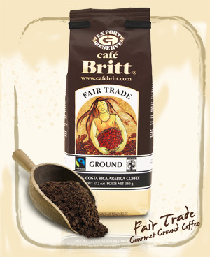 Cafe Britt coffees