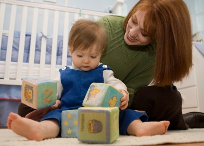 One of the top ten ways to help baby brain development