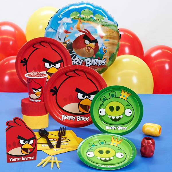 Angry Birds birthday party supplies
