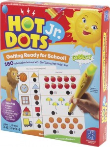 Hot dots junior preschool learning set