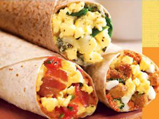 One of the top ten healthiest fast food breakfasts