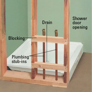 Top ten tips to install a shower