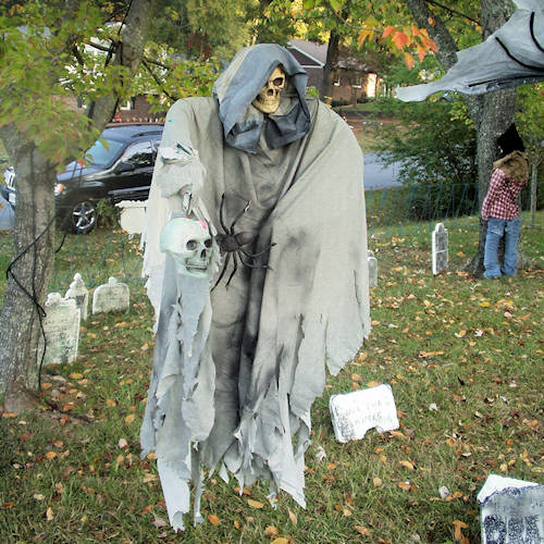 One of the top ten haunted hayride party ideas