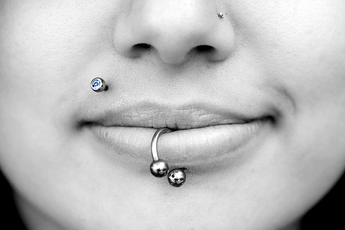 top lip piercings pictures. Forget the piercing. One of the top ten lip care tips