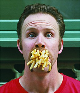 basic cooking skills guy with fries in mouth