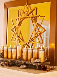 One of the top ten festival of hannukah decor tips
