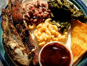 A list of the best of soul food menu choices