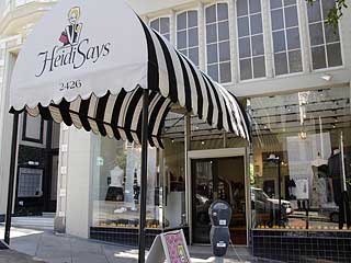 Best clothing stores in San Francisco Heidi Says