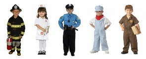 A list of the top ten jobs with uniforms