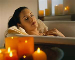 A list of the top ten relaxing bath ideas