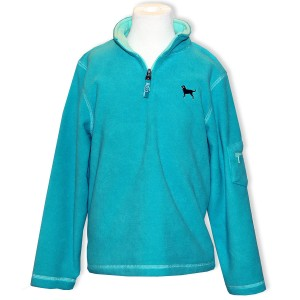 aqua microfleece jacket from Black Dog