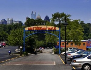 top 10 places to shop in atlanta Amsterdam Walk