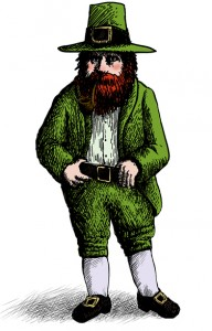 A list of the top ten signs you have an irish temper