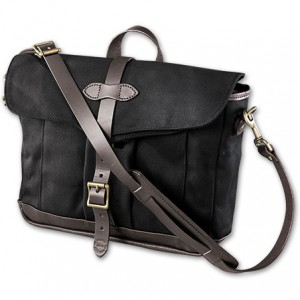 black womens messenger bag