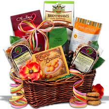 food and wine basket