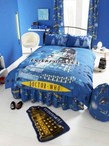 Dr who bedroom set