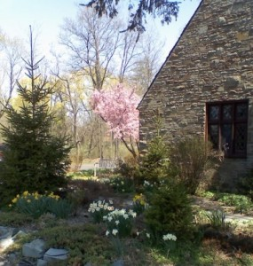 stone barn in cayuga heights new york