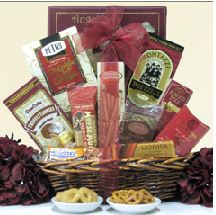 Chocolate gift basket