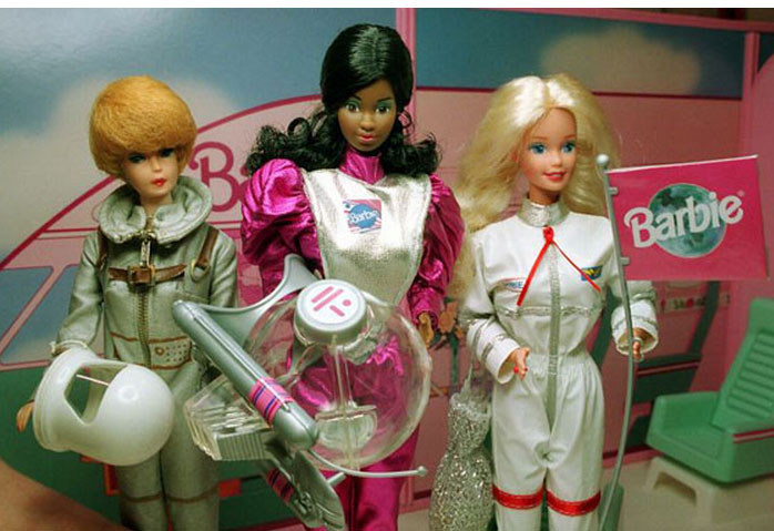 astronaut Barbie