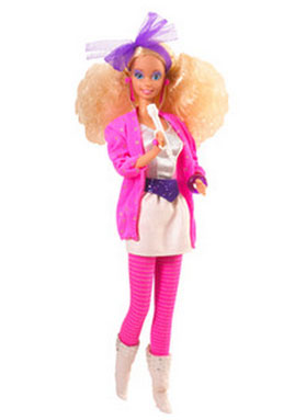rock girl Barbie