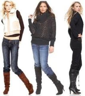 boots to wear with jeans