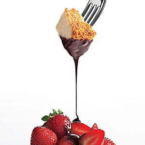 top 10 things for chocolate fondue angel food cake