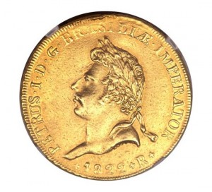 Pedro I Coronation Coin