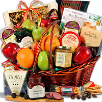 top 10 easy gifts fruit baskets
