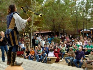top 10 largest renaissance fairs Louisiana Renaissance Festival