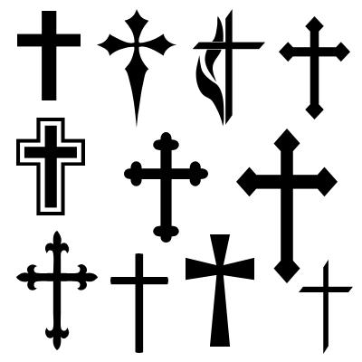 Cross and crucifix