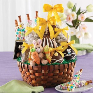top places to order easter baskets chocolate covered apples