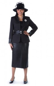 belted dress suit
