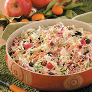 Nutty And Fruity Slaw